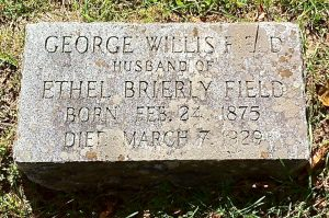 George Field's Final Place of Rest