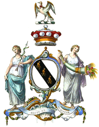 Arms of the Barons Scarsdale