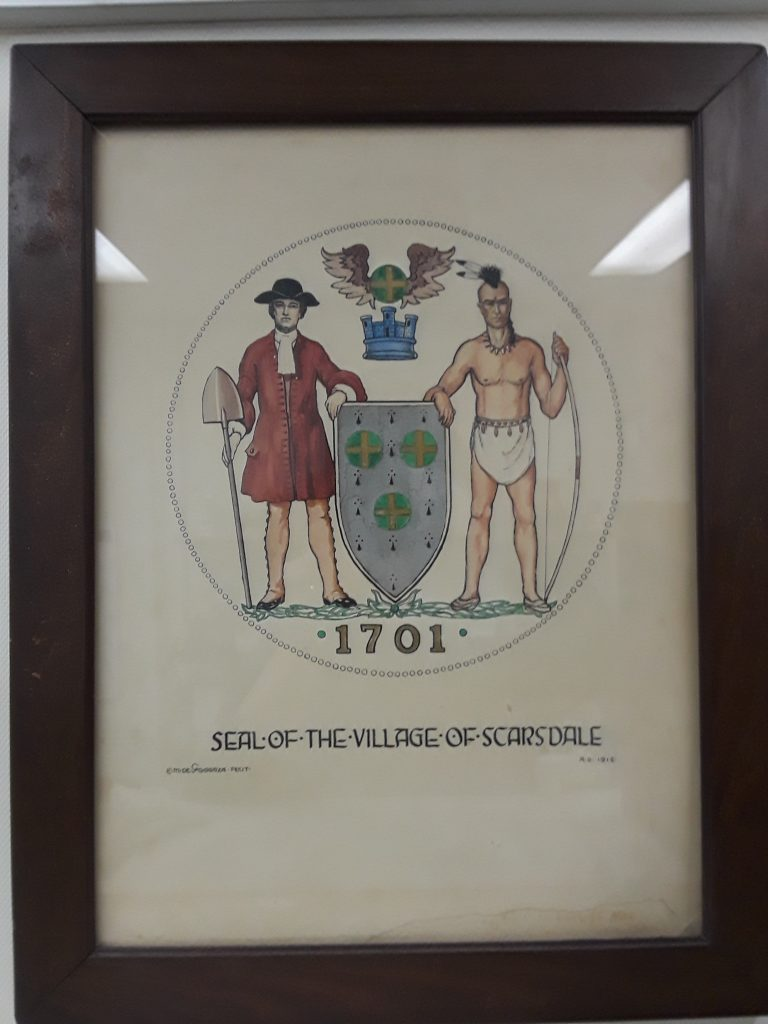 Scarsdale Seal Original Drawing