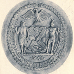 Seal of New York City from 1915